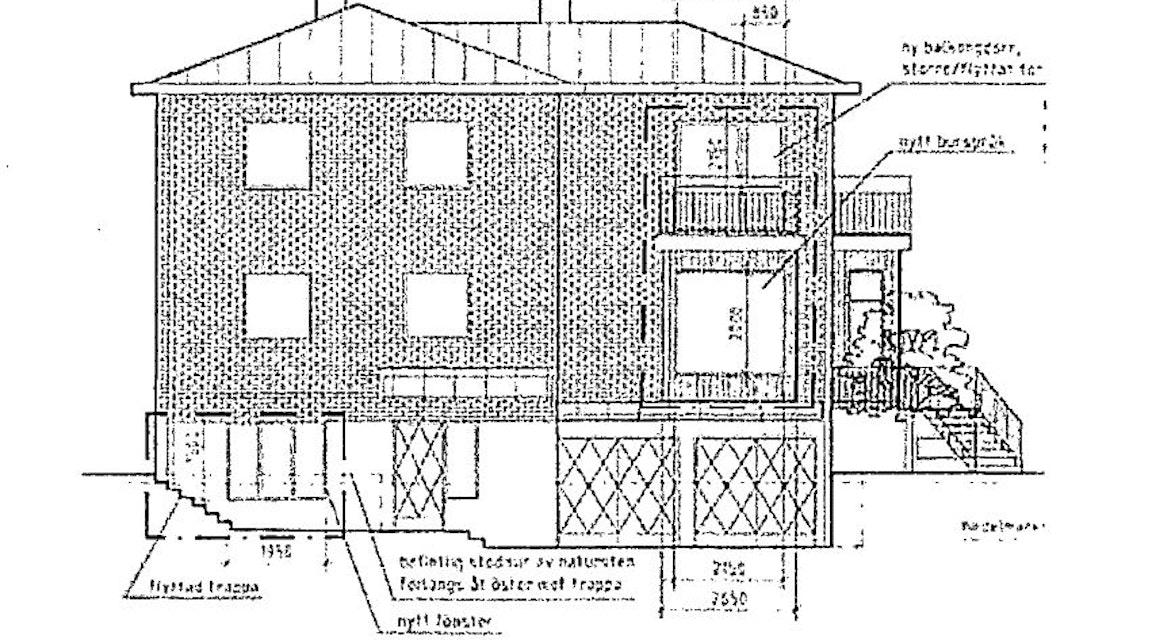 MÖD godkänner ändringar av grönklassad byggmästarvilla i Hägersten