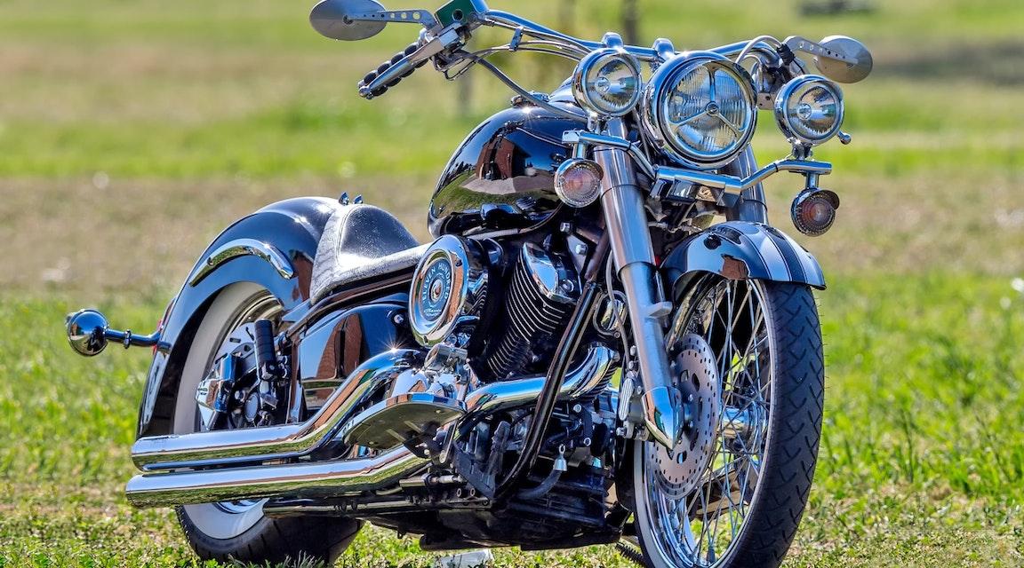 Fel av tingsrätt förverka motorcykel efter rånförsök