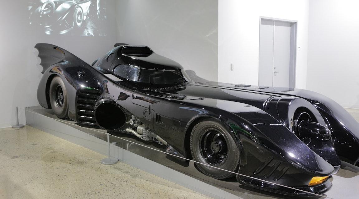 Batman-bil räddas från utmätning